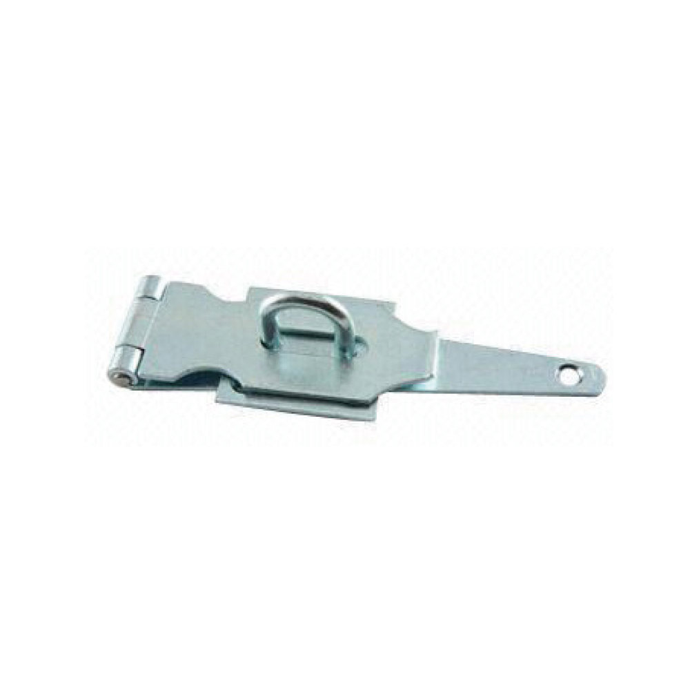 Fixed Staple Hinge Safety Hasp