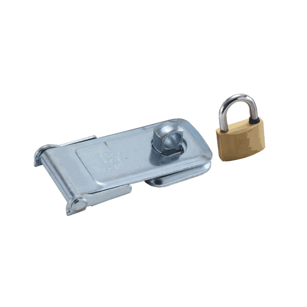 Padlock and Hasp Combination