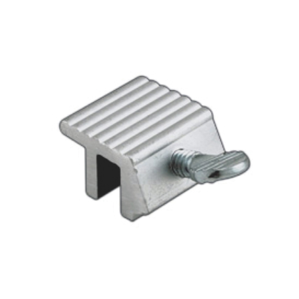 Aluminum Sliding Thumb Screw Window Lock