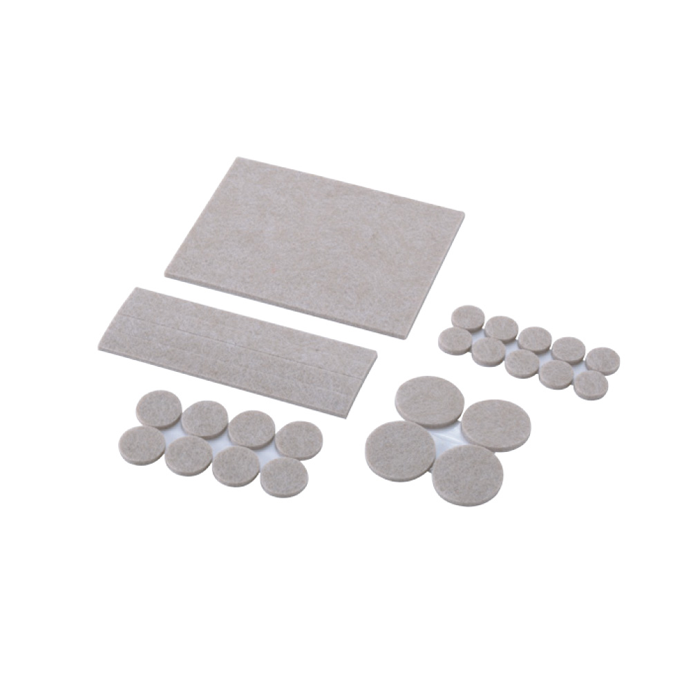 H.D. Felt Pad Assorted w/Self-Adhesive