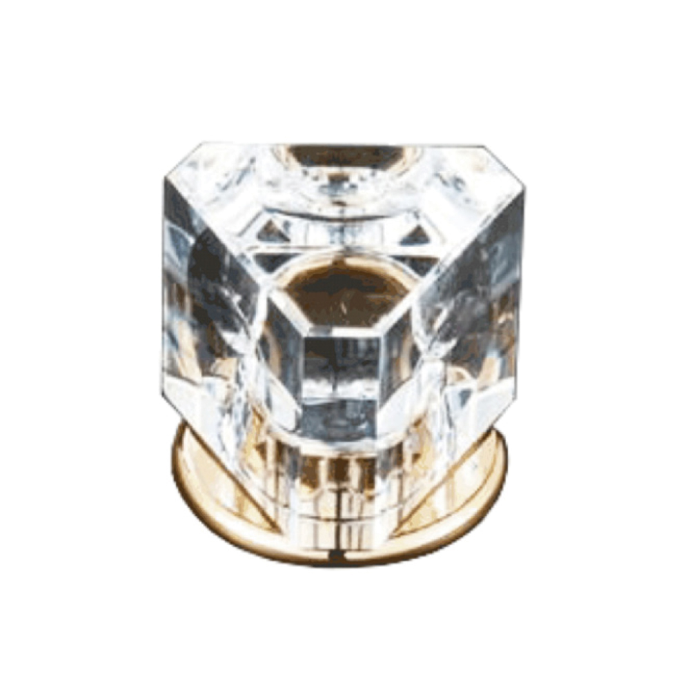 Triangle Crystal Knob